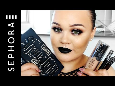Kat Von D Makeup Haul | Sephora is now in NZ! | Makeupwithjah - YouTube