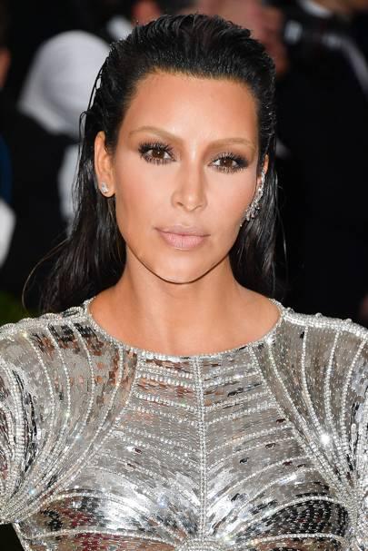Kim Kardashian Hair: Changing Make Up Hairstyles Look Book | Glamour UK