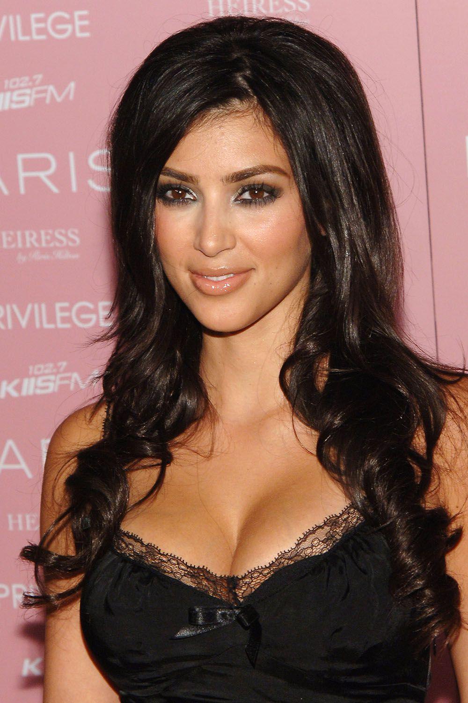 Kim Kardashian's Makeup and Hairstyles - Pictures of Kim