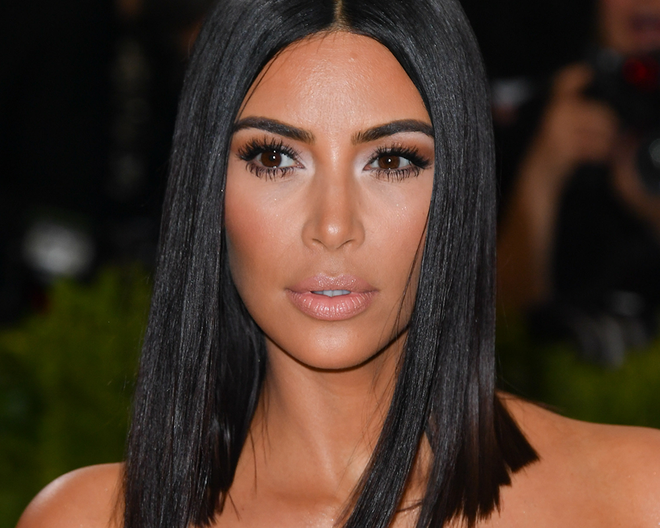 Kim Kardashian 2017 Met Gala - Celebrity - Makeup - DailyBeauty