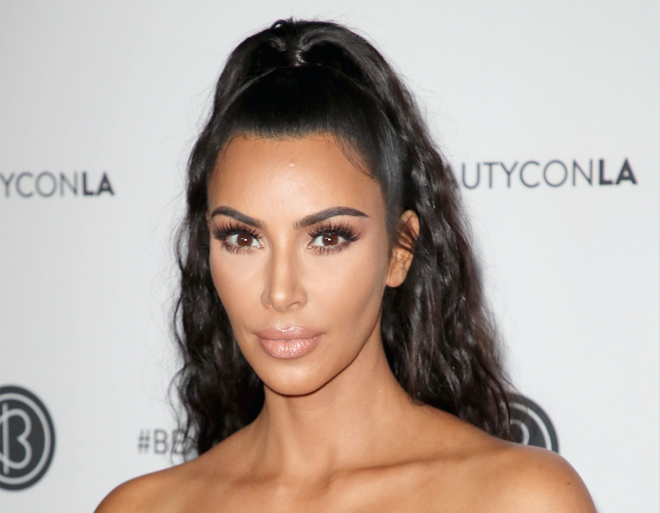 Kim Kardashian West Shared a Throwback Beauty Instagram - Celebrity