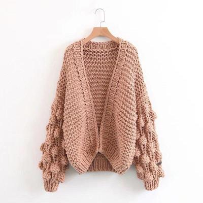 Extreme Chunky Knit Cardigan - The LooselyStore