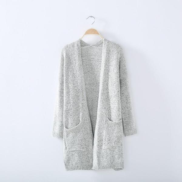 Zen - Loose Knit Cardigan Sweater u2013 Fray