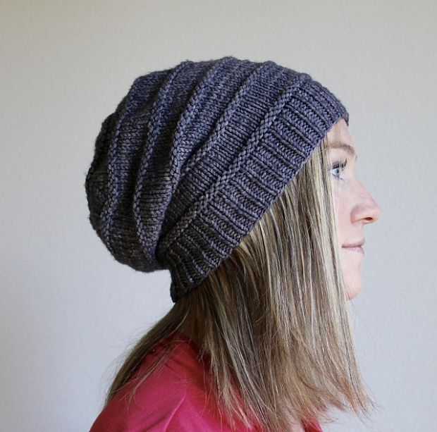 Free pattern Friday: Favorite Knit Slouchy Hat by Jamie Sande