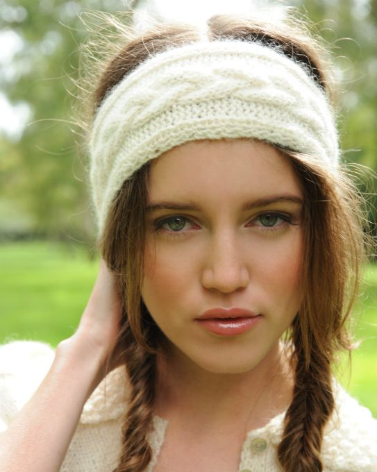 Diana Headband Knitting Pattern - Purl Alpaca Designs | Hats