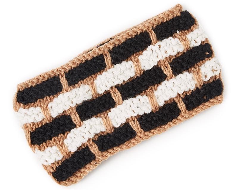 4907 Dash Design Knit Headband