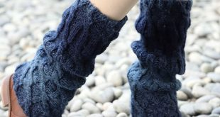 Cable Knit Leg Warmers - Free Knitting Pattern | Craft Passion |