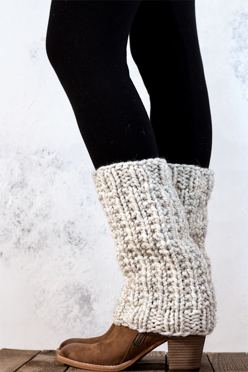 SILENCE : Women's Leg Warmer Knitting Pattern - Brome Fields