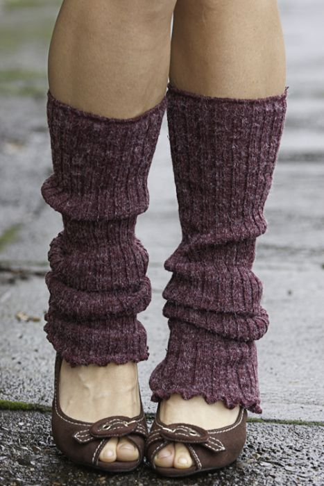 Ribbed Knit Leg Warmers | Sock Dreams
