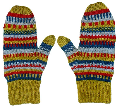 Easy Two Needle Knit Mittens for the Whole Family u2013 free patterns