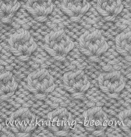 nut-knitting-pattern-stitch ⋆ Knitting Bee