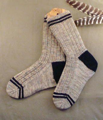 Men's Twin Rib Knit Sock Pattern | Needle | Pinterest | Knitting