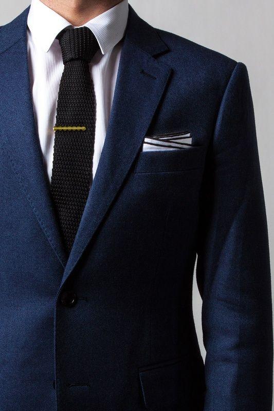 Black knit tie on Ties.com #tiesdotcom #winter #black #mensfashion