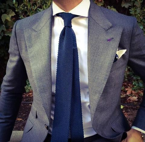 Knit Tie Guide | Everything You Need To Know About Knitted Ties