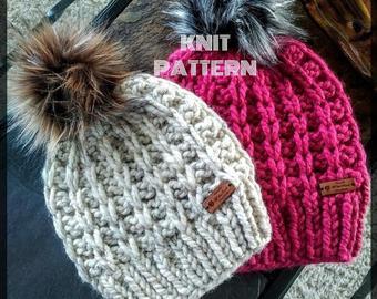 Knit beanie | Etsy