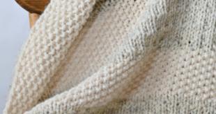 Easy Heirloom Knit Blanket Pattern   AllFreeKnitting.com