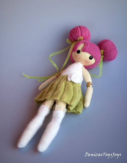 Ravelry: Bubble Doll pattern by Tatyana Korobkova