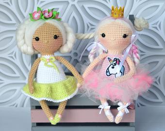 Soft knit baby doll   Etsy