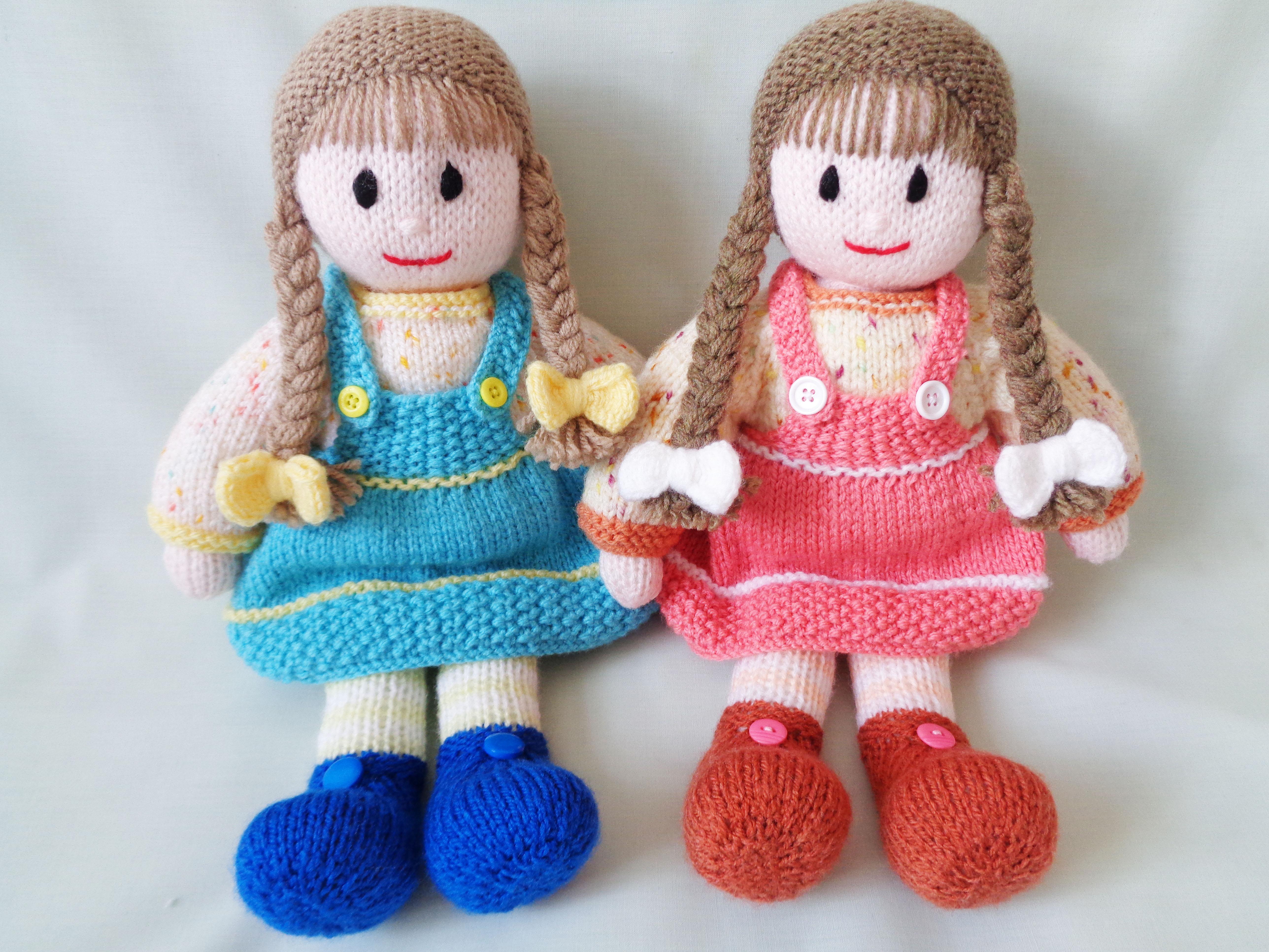 Knitted Doll | Carol Turner