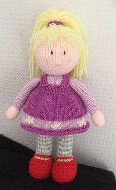 319 Best Knitted dolls images | Knitted dolls, Crochet Toys, Jean