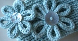 knitted flower patterns free | GIVEAWAY u2013 Knitting for Dummies and