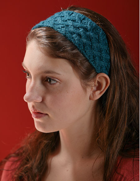 Lattice Cable Headband Pattern - Knitting Patterns and Crochet