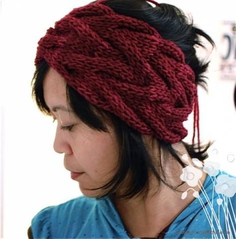 Free pattern: Vanessa Headband | Getting Purly With It