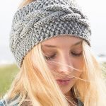 To keep your hairstyle cool have a look   on knitted headband pattern