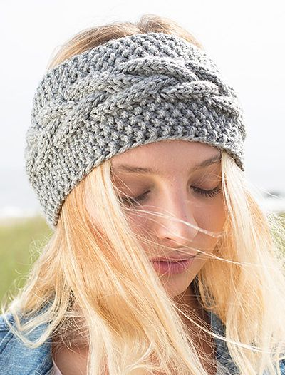 Find Out Stylish Looks in the Knitted   Headbands