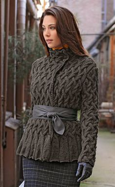 121 Best Knit Jacket images | Knit jacket, Crochet patterns, Yarns