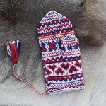 Warm Feeling in the Knitted Mittens