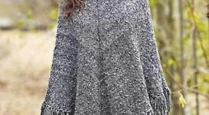 Knitted+Poncho+Patterns |  poncho free knitting pattern