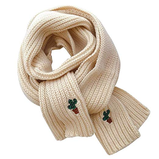 Amazon.com: Knitted Scarf for Kids Toddlers Infant Winter Solid
