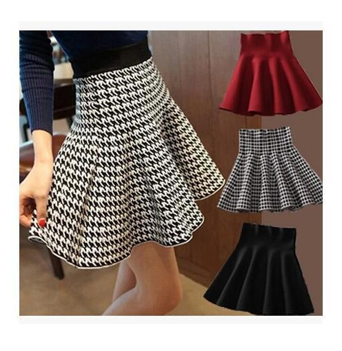 2019 Skirt Style 2018 Summer Skirts Women Knitted Skirt High Waist