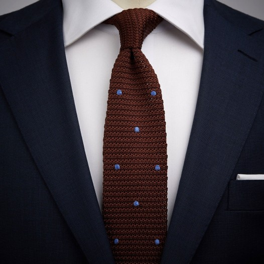 Beautiful Knitted Ties – adds a fresh   look to the person