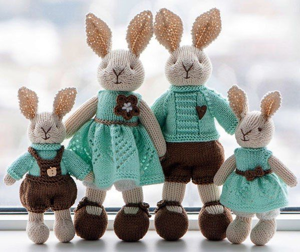 25 Free Toys & Animals Knitting Patterns | PicturesCrafts.com | knit