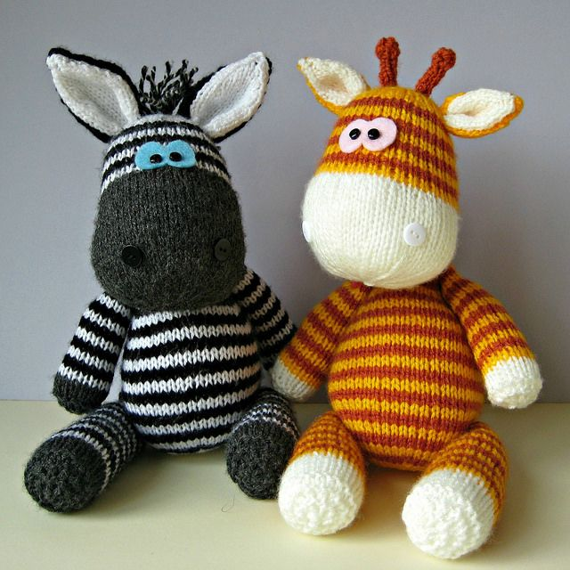 Knitting patterns by Amanda Berry - most AMAZING knitted toy