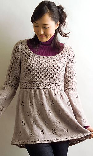 Tunic and Dress Knitting Patterns | Knitting | Pinterest | Knitting