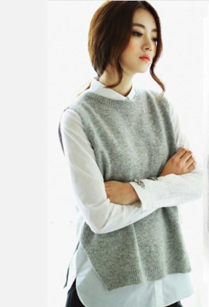 Cashmere Knitted Vest u2013 JetSet