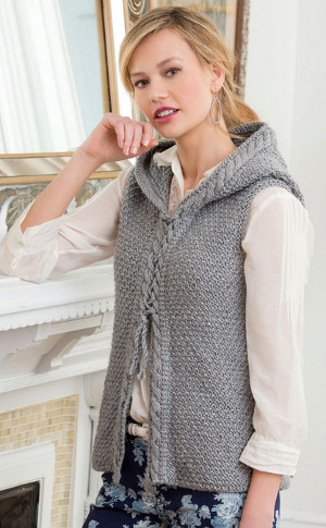 Enhance your winter styling statement   with the best knitted vest