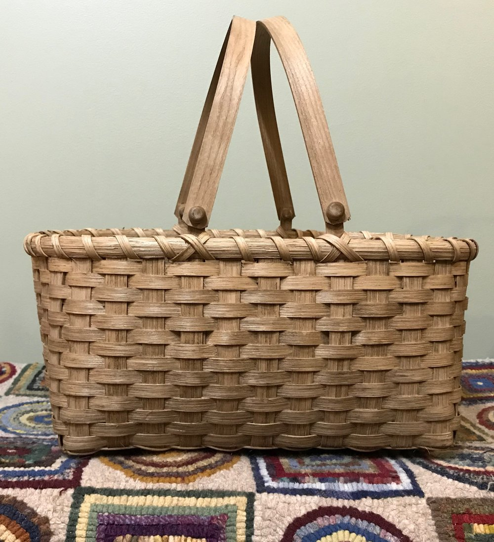 Knitting Basket u2014 The Woven Reed