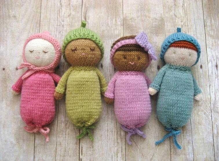 Knit Baby Doll Patterns | Bluprint