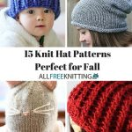 Cover your head with knitting hat   patterns