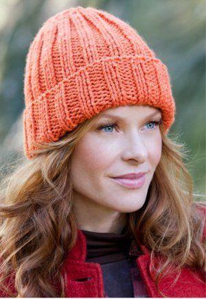Beginner Hat Knitting Pattern | Knittin' Kittin | Pinterest