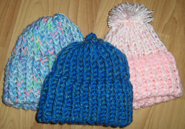 Bev's Loom Knitted Patterns