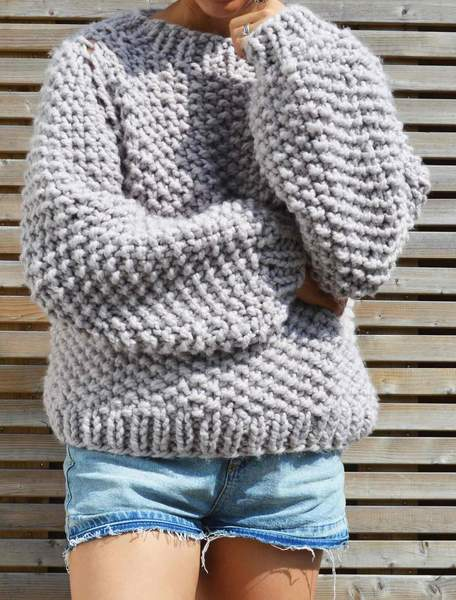 Seed Bubble Sweater Pattern - Digital Download u2013 KNIT SAFARI