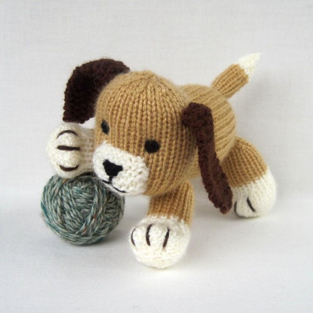 16 Knitted Animal Patterns - The Funky Stitch