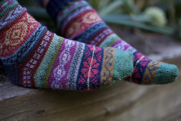 Foxs Lane: knitting socks - past, present + future