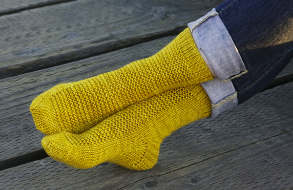 Rye Socks by Tin Can Knits : a free pattern from the Simple Collection