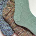 An Easy Way to Feel Warmness with   Knitting Socks